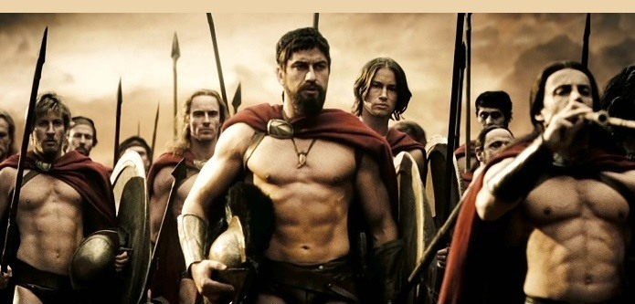 300 movie workout, spartan training