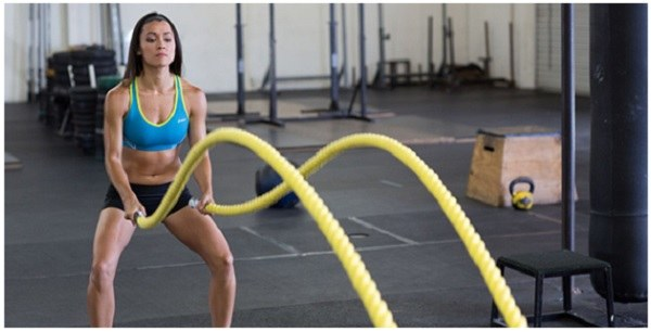 battle ropes workout