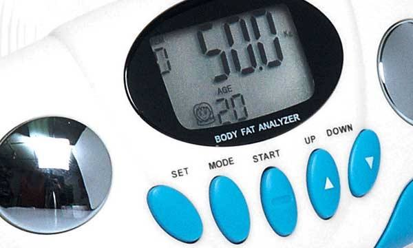 body fat analyzer monitor