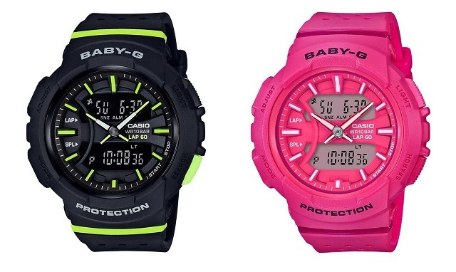 casio baby-g fitness watch for women