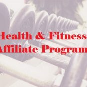 Health and fitness affiliate programs