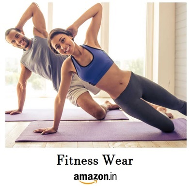 fitness wear on amazon