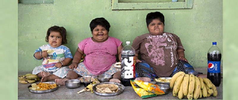 Indian children obese