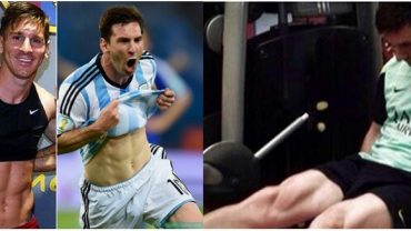messi fitness routine