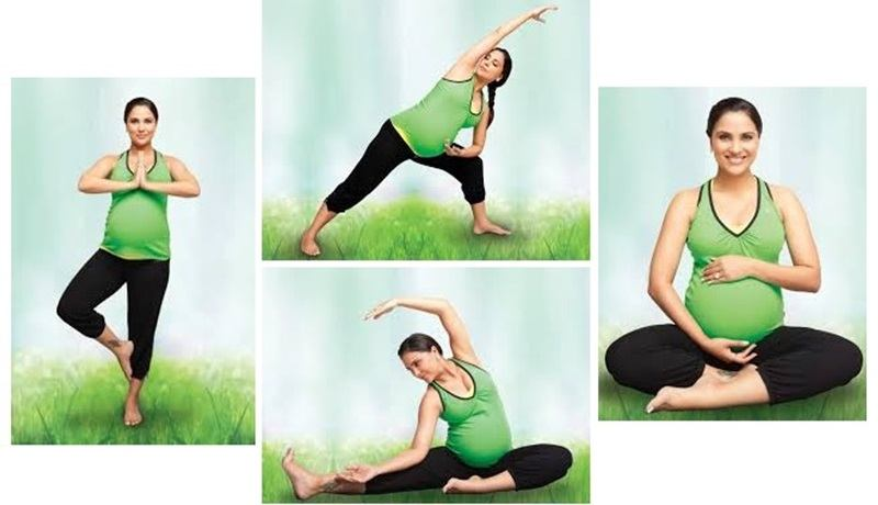 Prenatal Yoga With Lara Dutta Exercise Dvd For Pregnant Women Fitbiz In Fitness Sports Wellness In India